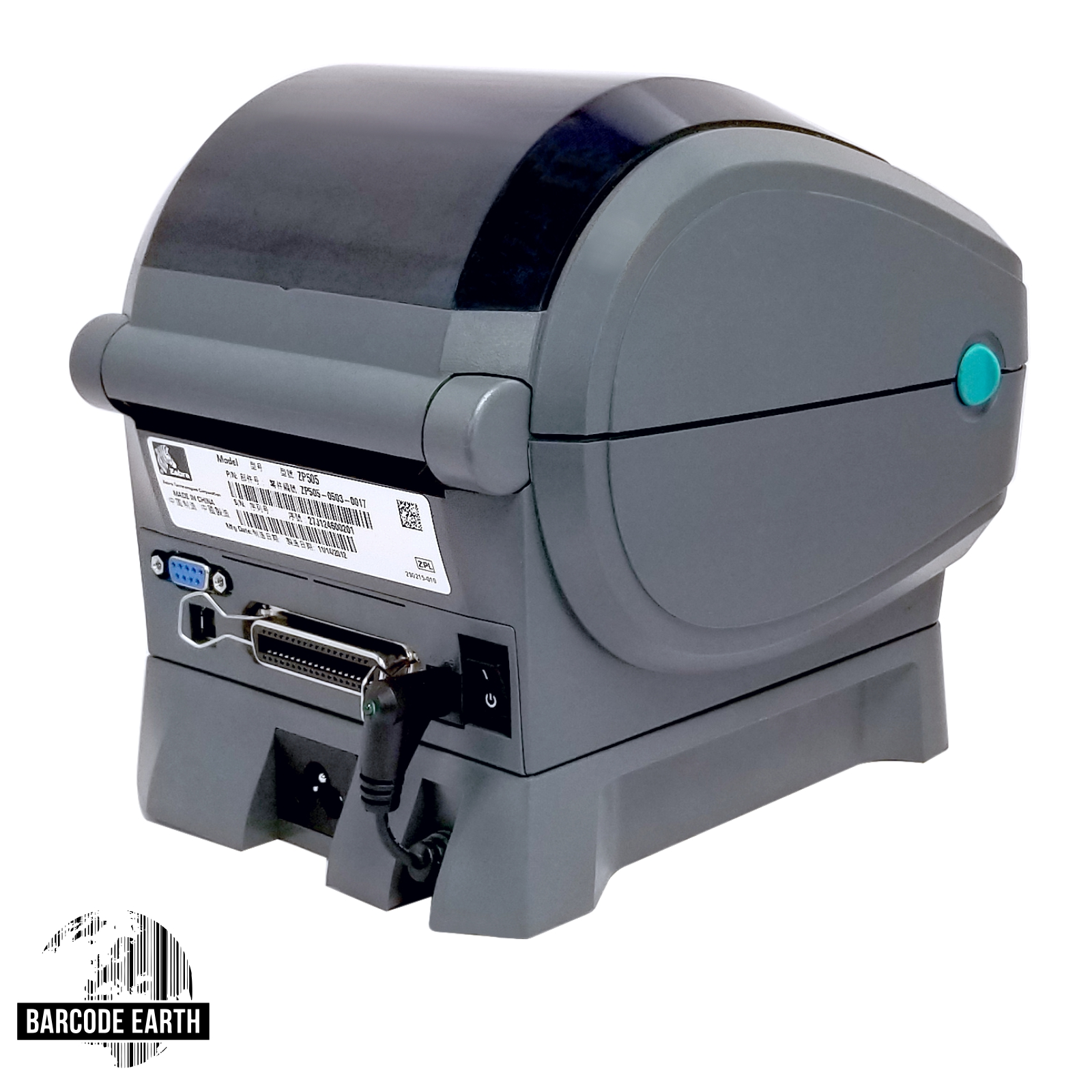 Zebra ZP450 Direct Thermal Label Printer $139 99 Bundle