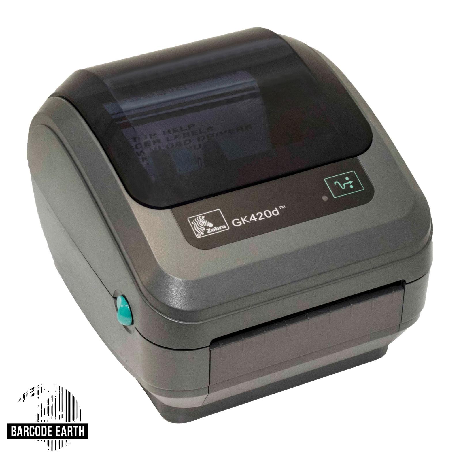 Zebra GK420d (GK42-202211-000) Bezel Dispenser, USB, & Ethernet $254 99