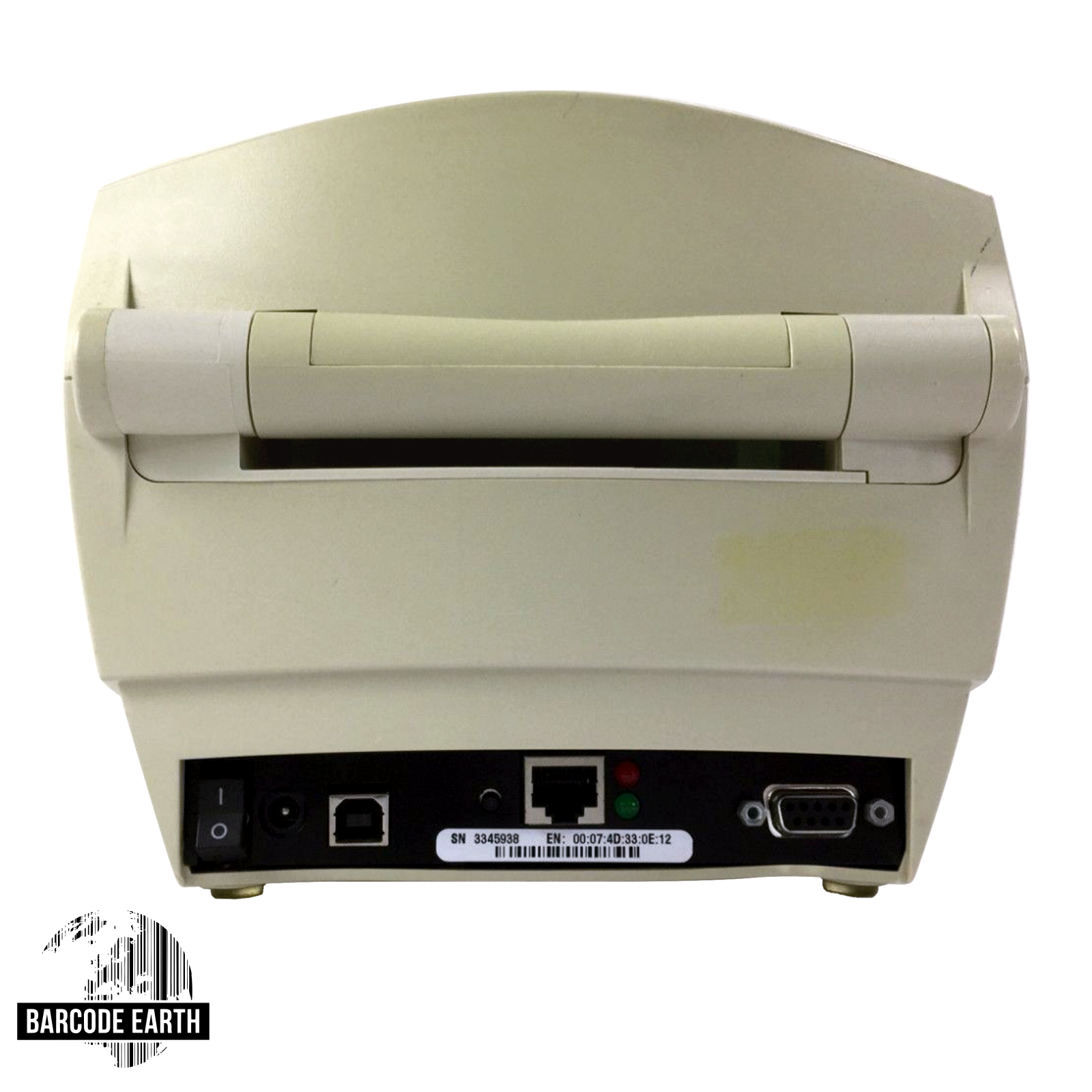 Yellowed Zebra LP2844-Z Printer - Network / Ethernet, Power, USB,  Refurbished