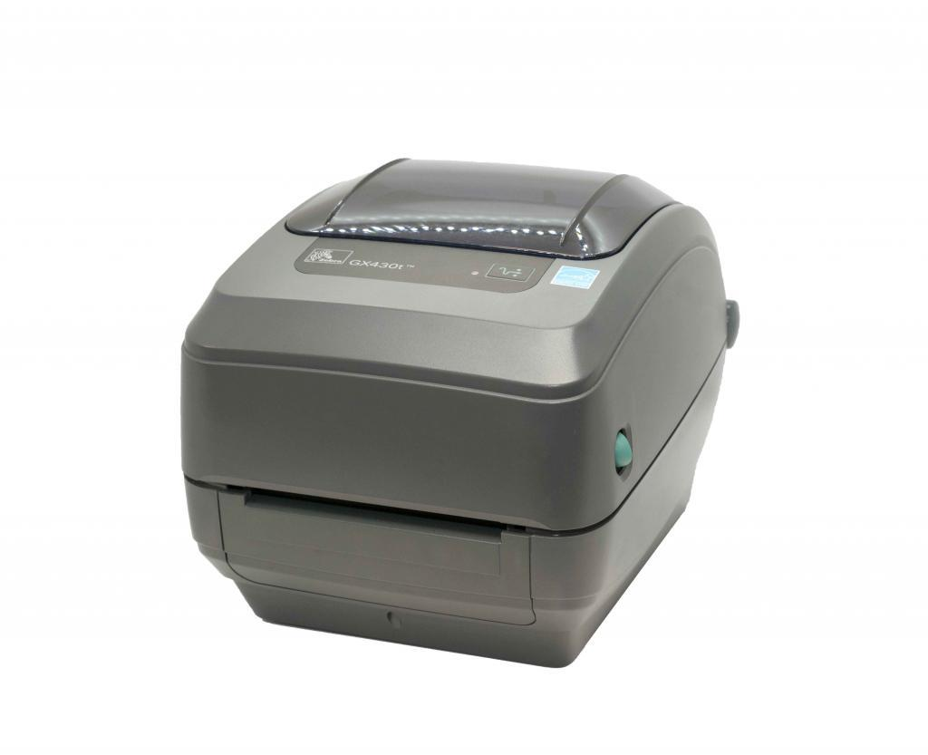 It is a picture of Luscious Zebra Gk420d Printing Extra Blank Labels