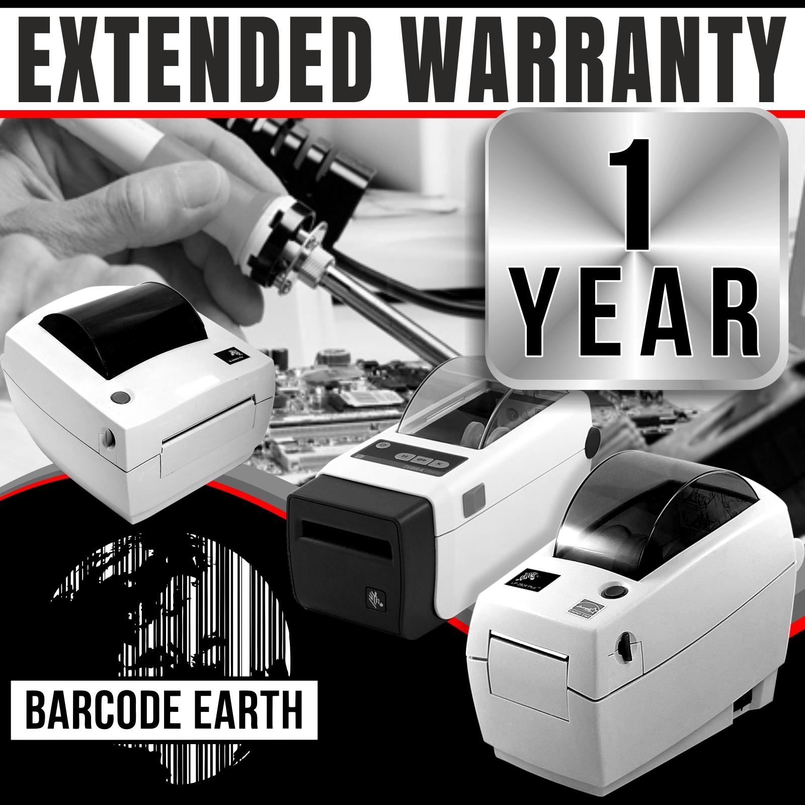 Zebra GK420d Extended Warranty Service Agreement - 1 Year