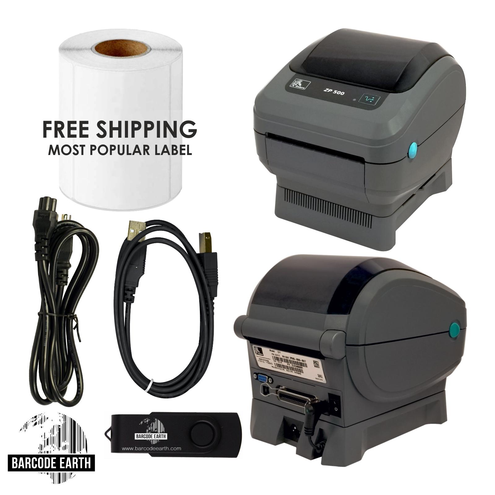 Zebra ZP505 Thermal Printer $159 99 203 DPI USB/Serial/Parallel