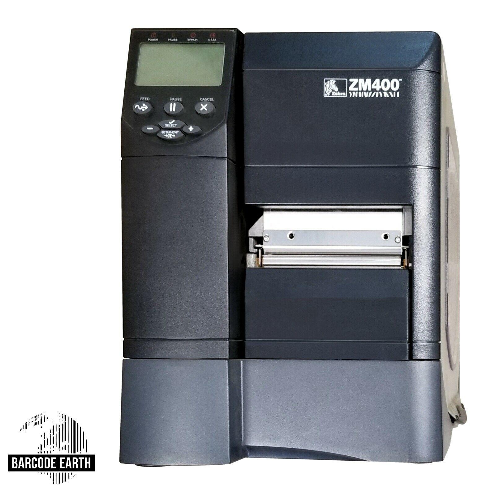 Zebra ZM400 $399 99 Thermal Transfer Label Barcode Printer ZM400-2001-0100T  Amazon Special
