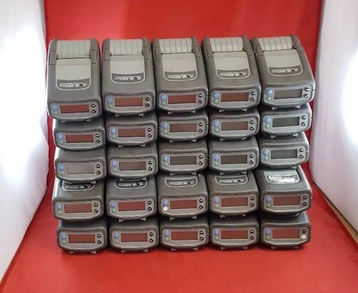 Zebra QL220 Plus Wireless Network Mobile Thermal Printer Wireless, Lot of 25